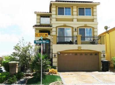 Las Vegas Single Family Home Contingent Offer: 8408 Blackstone Ridge Court