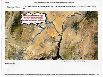 Residential Lots & Land For Sale: 500 North Moapa Valley Boulevard