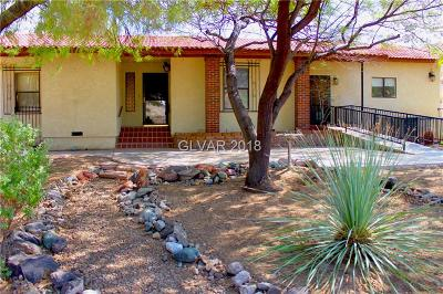Boulder City Single Family Home For Sale: 1406 Garnet Place