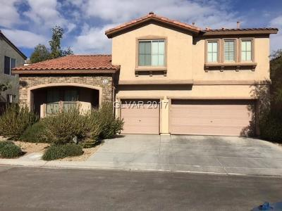 Las Vegas Single Family Home Contingent Offer: 7618 Stray Horse Avenue