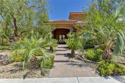 Henderson NV Single Family Home For Sale: $2,295,000