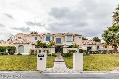 Las Vegas Single Family Home Contingent Offer: 2513 Windjammer Way