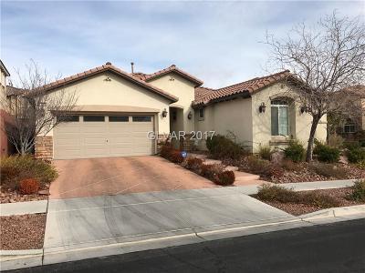 Las Vegas Single Family Home For Sale: 11678 Bradford Commons Drive