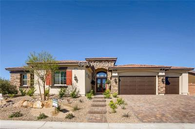 Las Vegas Single Family Home Contingent Offer: 8319 Agave Bloom Street