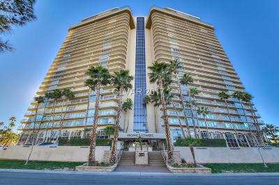 Clark County High Rise For Sale: 3111 Bel Air Drive #19C