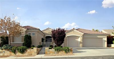 Henderson NV Single Family Home For Sale: $949,900