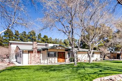 Single Family Home For Sale: 3390 West Lone Mountain Road