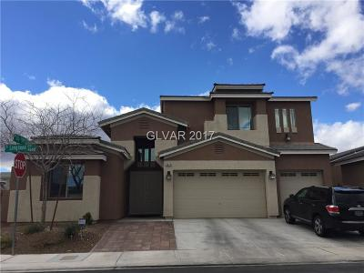 Las Vegas  Single Family Home For Sale: 4643 Longnook Court