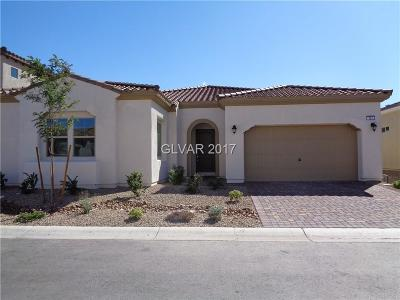 Las Vegas Single Family Home For Sale: 327 Pearl Fountains Court