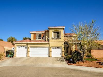 North Las Vegas Single Family Home For Sale: 1724 Silent Sunset Avenue