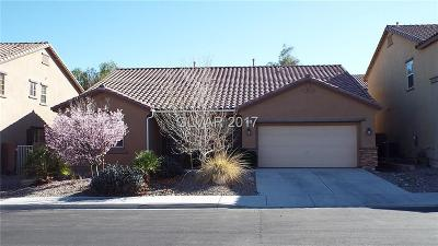 Las Vegas, North Las Vegas, Henderson Single Family Home For Sale: 121 Staplehurst Avenue