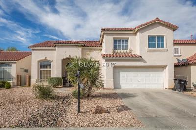 Las Vegas Single Family Home Contingent Offer: 1712 Deep Spring Avenue