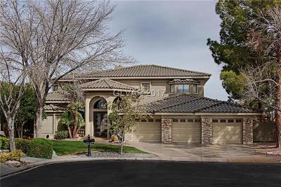 Henderson Single Family Home For Sale: 2321 Prometheus Court
