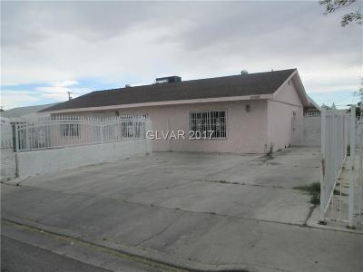 Las Vegas NV Single Family Home For Sale: $130,000