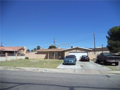 Las Vegas  Single Family Home For Sale: 3952 Jewel Avenue