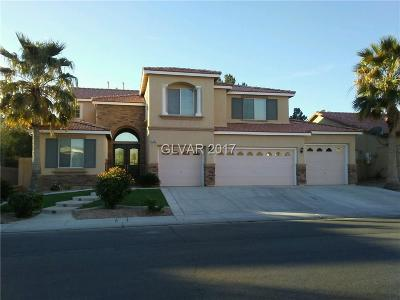 North Las Vegas Single Family Home For Sale: 1407 Silent Sunset Avenue