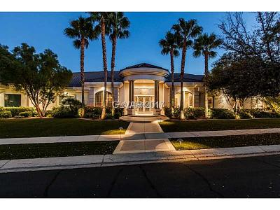 Henderson Single Family Home For Sale: 2085 Troon Drive