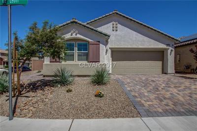 Henderson Single Family Home For Sale: 3628 Via De Leoni Avenue