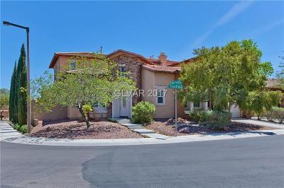 Henderson, Las Vegas Single Family Home Under Contract - No Show: 212 Tiburtina Avenue