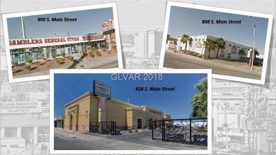Las Vegas Residential Lots & Land For Sale: 818 South Main Street