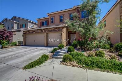 Las Vegas Single Family Home For Sale: 8148 Smoking Jacket Place