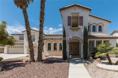 Las Vegas Single Family Home For Sale: 10675 Chillingham Drive