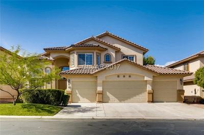 Las Vegas Single Family Home For Sale: 5488 San Florentine Avenue