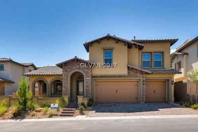Las Vegas Single Family Home For Sale: 375 Calabria Ridge Street