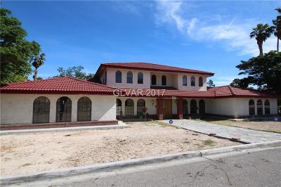 Clark County Single Family Home For Sale: 5110 Evaline Lane