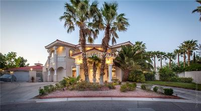 Las Vegas Single Family Home For Sale: 6090 Crystal Brook Court