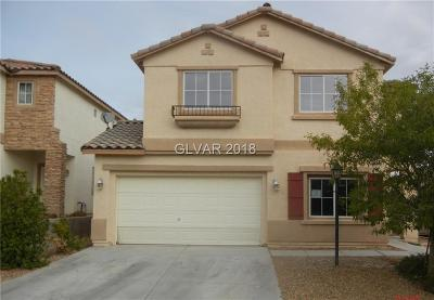 Las Vegas Single Family Home Contingent Offer: 10532 Glowing Cove Avenue