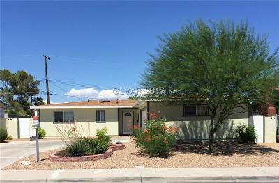 Las Vegas Single Family Home For Sale: 4508 Providence Lane