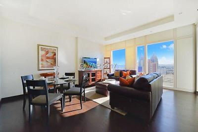 Resort Condo At Luxury Buildin High Rise Contingent Offer: 3750 South Las Vegas Boulevard #2602
