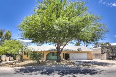 Clark County Single Family Home Contingent Offer: 5901 Paseo Montana