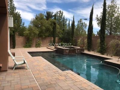 Las Vegas Single Family Home Under Contract - No Show: 4241 San Alivia Court