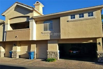 Las Vegas Condo/Townhouse For Sale: 3555 Meridale Drive #2147