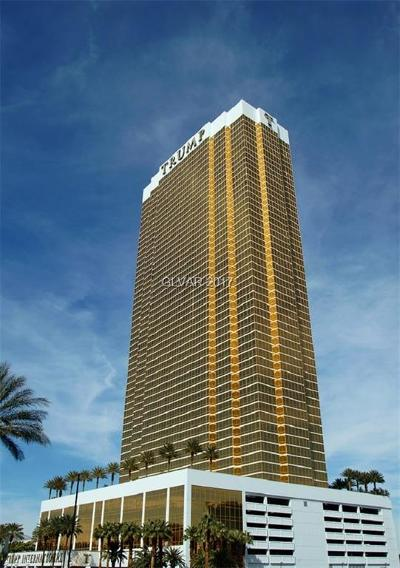 Trump Intl Hotel & Tower-, Trump Intl Hotel & Tower- Las High Rise For Sale: 2000 Fashion Show Drive #3001