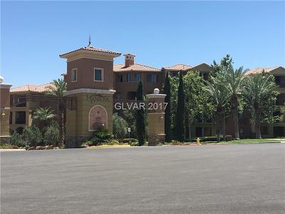 Henderson Condo/Townhouse For Sale: 15 Via Mantova #306
