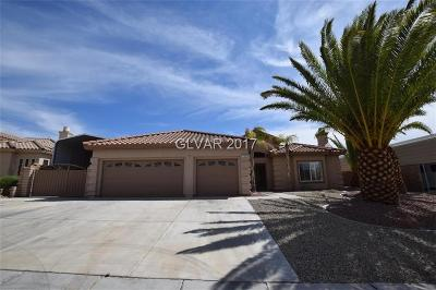 Boulder City Single Family Home For Sale: 753 Fairway Drive