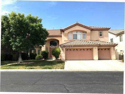 Las Vegas Single Family Home For Sale: 50 Gulf Pines Avenue