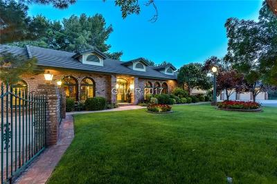 Clark County Single Family Home Contingent Offer: 3449 East Rochelle Avenue