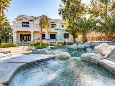 Las Vegas  Single Family Home For Sale: 9879 La Cienega Street