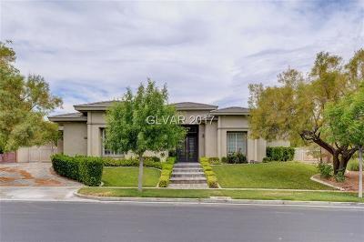 Summerlin Village Single Family Home For Sale: 9620 Grand Isle Lane