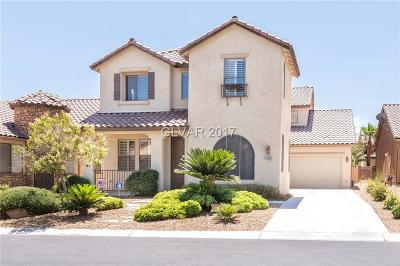 Las Vegas  Single Family Home For Sale: 11214 Piazzale Street