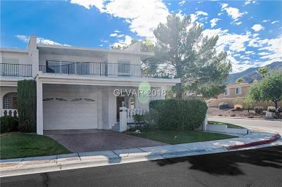 Boulder City Condo/Townhouse For Sale: 494 Marina Cove
