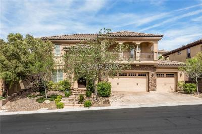 Henderson NV Single Family Home For Sale: $729,990