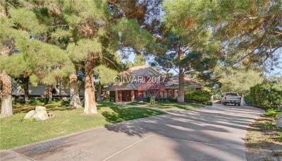Las Vegas Single Family Home Contingent Offer: 2840 Pioneer Way