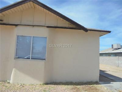 North Las Vegas Multi Family Home Contingent Offer: 1620 Nelson Avenue