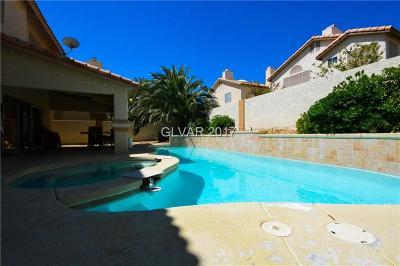 Las Vegas Single Family Home For Sale: 5453 Desert Spring Road