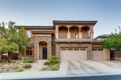 Henderson NV Single Family Home For Sale: $795,000